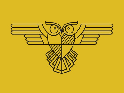 Monoline Owl