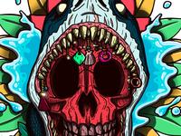 Shark Skull Snake
