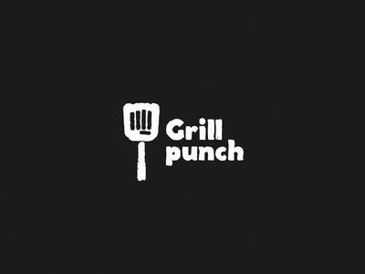 Grill Punch - Logo animation ui animated advertisement intro logo animation logo motion design motion design animation