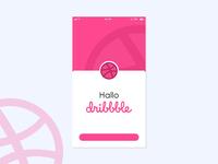 Hallo Dribbble!!!