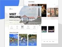 Visit Malang Landing Page