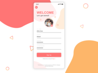 UI #1: Sign Up