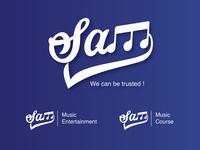 Sams Music Entertainment Logo