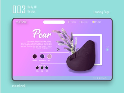 Daily UI 003 - Landing Pages web pages userinterface digital arts ui designer uiux ui  ux design web  design homepage catalog page landing pages dailyui 003 dailyui