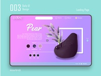 Daily UI 003 - Landing Pages