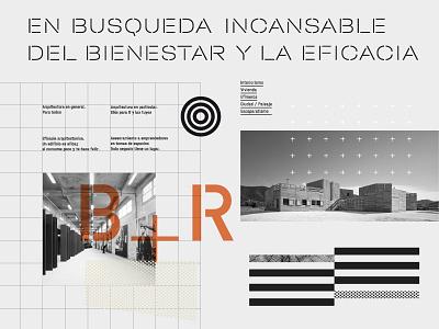 Blancafort + Reus. Architecture Studio typeface type typography arquitetura branding arquitecture