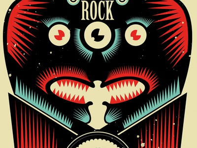 Ethnic Rock Poster