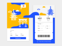 Daily UI 024 Boarding Pass