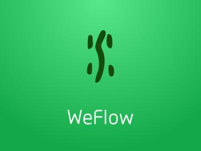 WeFlow App Logo Design