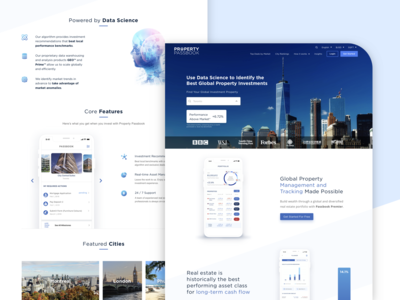 Landing page - Property Passbook