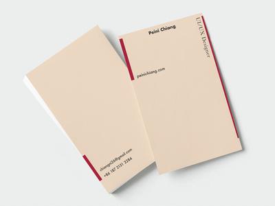 Business card - UI/UX designer