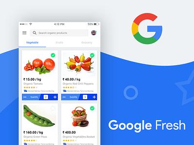 Google Fresh app free ui design psd free ui design free app design google farmer farm