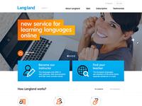 Langland: home page