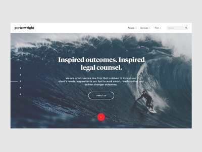 Lawfirm — About Page ui ux web website simple about law law firm legal lawyer attorney typography minimal blue
