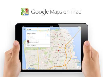 Maps On Ipad