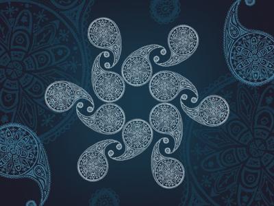 Paisley Mandala