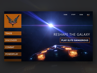 Daily UI 4: Elite Dangerous Landing