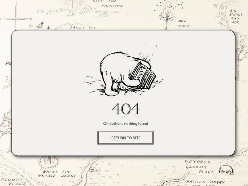 Another 404 Page - Daily UI 008