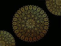 Interlocking Mandala Design