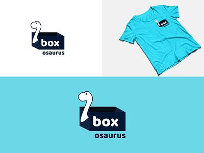 Logo design - Boxosaurus t-shirt tshirt box dinos dinosaur logo