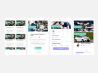 Mobile Apps UI CarVice (Car Service)