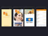Bus Bus Application via Mobila Apps