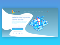 Landing Page Isometric