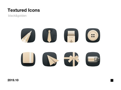 textured icons
