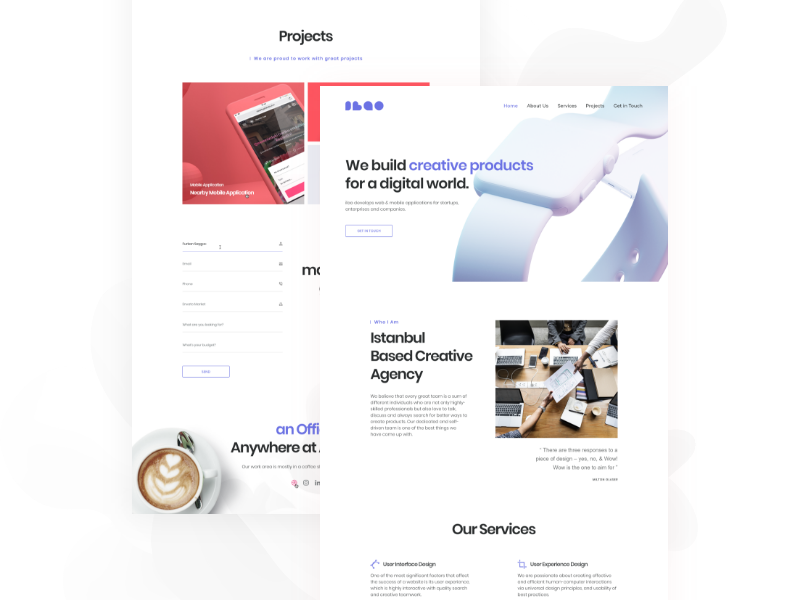 Our Team Website business team agency uiux landingpage website design productdesign digitalproduct userexperience userinterface