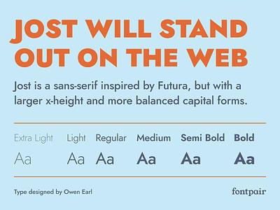 Jost - Sans-Serif Google Font sans serif typeface sans serif fonts owen earl sans serif sansserif sans-serif jost google fonts google font font pairing font pair font typography typeface googlefonts fonts fontpair