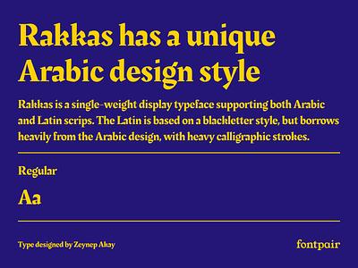 Rakkas - Display Google Font display typeface display display font rakkas font google fonts google font font pairing font pair typography typeface googlefonts fonts fontpair