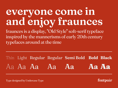 Fraunces - Serif Google Font serif fonts serif typeface fraunces font fraunces serif font google fonts google font font pairing font pair typography typeface googlefonts fonts fontpair