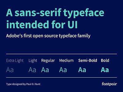 Source Sans Pro - Sans-Serif Google Font source sans sourcesanspro sansserif sanserif sans-serif source sans pro font google fonts google font font pairing font pair typography typeface googlefonts fonts fontpair