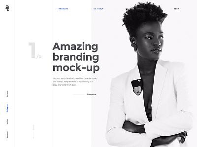 Atail. Portfolio theme inspiration portfolio ui design web