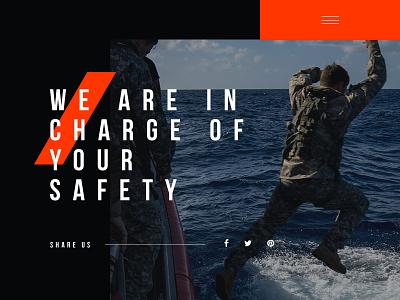 Re/Crew modern interface ux ui design web