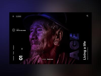 Elders. Concept ux web design template themeforest graphic web ui design