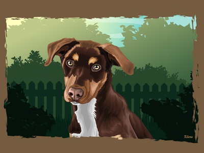 Portrait (dog)