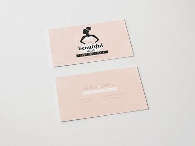 Beautiful Looks Oldenburg buisnesscard bridal service branding logo corporate design illustration hamburg oldenburg bremen