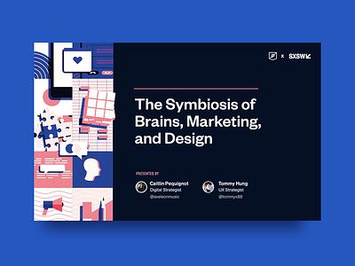 Neuroscience, baby presentation keynote design marketing brains