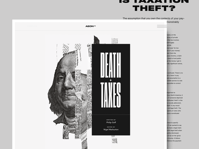 death & taxes cash rules everything around me benjamin franklin taxes death