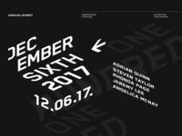 december sixth
