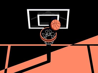 more hoops basketball illustration space jam 2