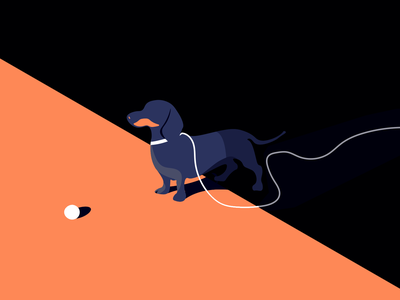 drooling doggo drool drooling weiner dog dachshund dog doggo illustration inktober 2018 inktober