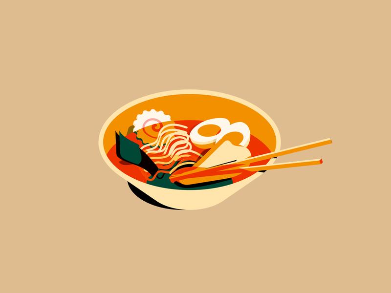 ramen inktober chop chopsticks ramen