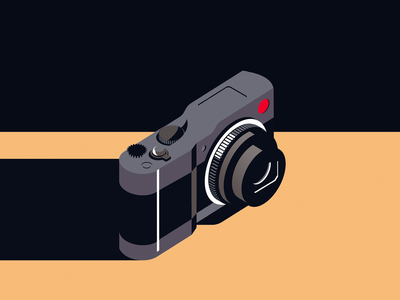 leica isometric illustration camera leica