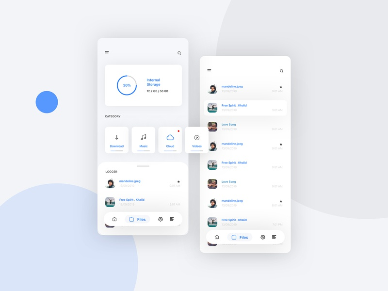 File Explorer by ssshile on Dribbble