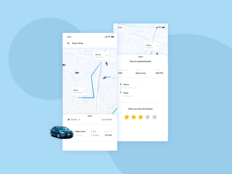 Booking a ride just got easier! illustration icon productdesign screen design ux app ux process ui ux interface design design