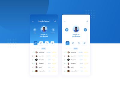 Leaderboard Screen