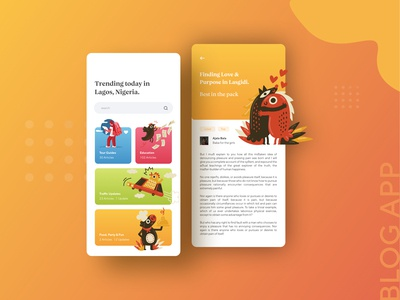 Blog App