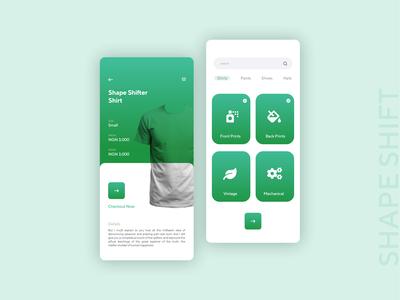 Shirt Ordering App